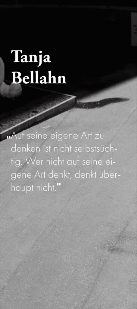 Zitat Tanja Bellahn
